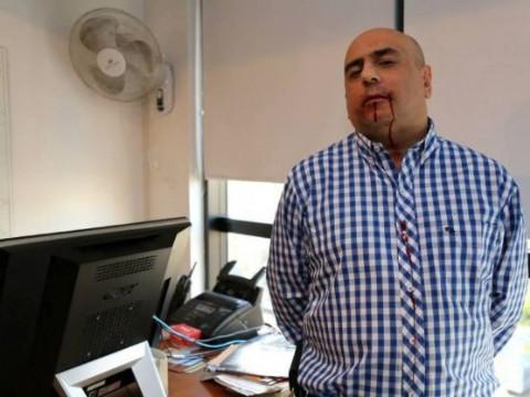 El director de Agencia NOVA recibi� muestras de solidaridad. Mario Casalongue, director de Agencia NOVA.