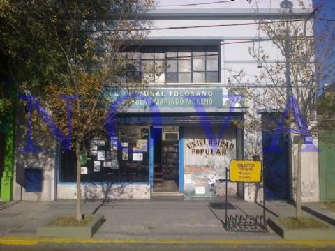 Volvieron los talleres de la Biblioteca Popular Mariano Moreno para ni�os y adultos. La biblioteca tolosana est� ubicada en 1 entre 528 y 529. (Foto: NOVA)