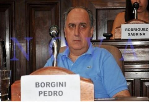 Denunciaron al concejal massista Borgini por violencia y discriminaci�n laboral. Pedro Borgini, concejal massista. (Foto archivo: NOVA)