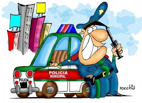 Jorge Campostrini, a un paso de ser designado jefe de la Polic�a Local. Este jueves se desarroll� la audiencia p�blica en donde los vecinos de La Plata pudieron impugnar los antecedentes del dirigente de la Asociaci�n Comercial de Los Hornos, Jorge Campostrini.(Dibujo: NOVA).