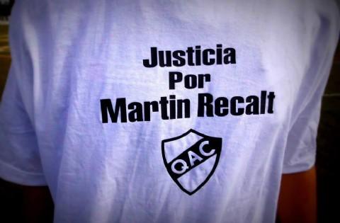 Caso Recalt: comenz� el juicio contra el conductor que atropell� y mat� a un joven en La Plata. Los familiares piden Justicia por Mart�n Recalt.