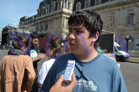 "A 38 a�os de ""La Noche de los L�pices"", organizaron festival para fortalecer la militancia juvenil. Mart�n Pacheco de la Federaci�n de Estudiantes Secundarios de Capital Federal, dialog� con NOVA."