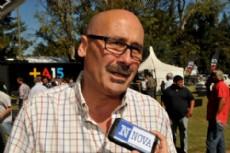 Carlos Melzi, precandidato a intendente de La Plata. (Foto: Yolanda Veloso).