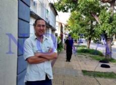 """Mart�n, amigo de la pareja baleda en 34 entre 15 y 16, dialog� con este portal: """"A los delincuentes no les import� la vida"""". (Foto: NOVA)."""