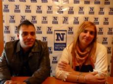 Los integrantes del partido Unidad Vecinalista Federal, Anah� Cant�n y Jonatan Soler, dialogaron con NOVA sobre sus propuestas y aspiraciones de cambio para los habitantes de la regi�n. (Foto: NOVA).