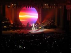 Alrededor de cinco mil espectadores, en su mayor�a ni�os y adolescentes, vibraron con las canciones de la juvenil artista