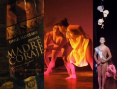 Flor de Mar�a Armas, Fernando Calito y Yeimy Gonz�lez interpretaron con excelencia los diversos personajes de la historia.