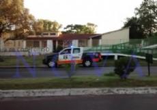La Escuela Secundaria N� 25 de Tolosa fue blanco de un nuevo ataque vand�lico. (Foto: NOVA)