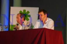 El neur�logo y neurocient�fico, Facundo Manes, brind� una charla abierta en el Pasaje Dardo Rocha de la ciudad de La Plata ante m�s de 1.200 personas. (Foto: NOVA).