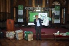 En el Sal�n Dorado de la Municipalidad de La Plata, el intendente Pablo Bruera lanz� la iniciativa que extiende de lunes a s�bado el servicio de recolecci�n domiciliaria de residuos secos en la ciudad.
