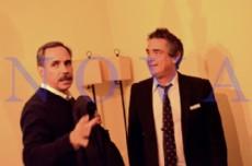 El senador nacional de la Uni�n C�vica Radical (UCR), Eugenio �Nito� Artaza, visit� La Plata y acompa�� al precandidato a intendente, Jos� Ram�n Arteaga, en un intento por reforzar  su acuerdo con el massismo. (Foto: NOVA).