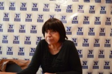 Mar�a Eva Klein, secretaria general de la Uni�n de Trabajadores y Minoridad (UTEM). (Foto archivo: NOVA).