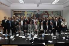 Enrique Slezack se reuni� con el ministro de Planificaci�n Federal, Inversi�n P�blica y Servicios de la Naci�n, Julio De Vido, junto a jefes Comunales nucleados en el G-30 y Los Oktubres.