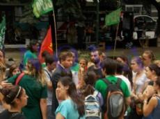 Marcelo David, el abogado de los estudiantes de la Facultad de Medicina. (Foto: NOVA).