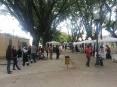 Feria de Artesanos de Plaza Matheu.