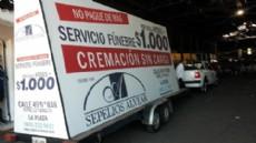 Control Urbano de La Plata secuestr� trailer y veh�culo ambulante de funeraria.