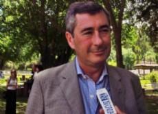 En el edificio de calle 51 entre 9 y 10,  Miguel �ngel Zubieta, secretario general del SSP, dio el puntapi� inicial para la jornada de la Primera Jornada de Infectolog�a en el Colegio de M�dicos. (Foto: NOVA).