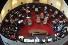 Agenda parlamentaria acotada y reconocimientos varios en la sala legislativa Mar�a Teresa Berardi.