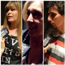 Mimi Dominici, Marcela Farroni y Jos� Nieto opinaron sobre el flagelo de la inseguridad. (FOTO:NOVA).