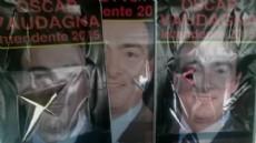 As� quedaron los carteles de Vaudagna Intendente 2015.