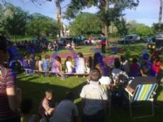 La jornada cultural infantil convidar� a los peques con talleres, payasos, circo y cine. (Foto archivo: NOVA)