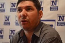 De cuna peronista y con apellido de peso dentro del Movimiento, el abogado platense Hern�n Javier Dorr, analiz� la realidad municipal, provincial y nacional. (Foto: NOVA).