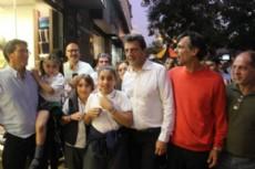Carlos Melzi destac� la visita del candidato a Presidente Sergio Massa.