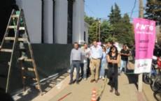 El intendente Pablo Bruera visit� la Escuela N� 55 �Juan Vucetich�, de 62 entre 27 y 28, donde la Municipalidad de La Plata llev� a cabo trabajos de reparaci�n y mantenimiento.