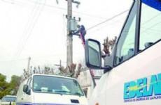 Un transformador ubicado en Ruta 2 Km. 42,5 del Barrio Ruta del Sol, fue robado de la plataforma donde prestaba servicio a los clientes de la zona.