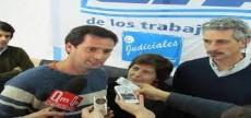 Mart�n Vizcarra, secretario general de la Departamental La Plata de la Asociaci�n Judicial Bonaerense.