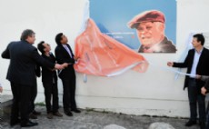 Presentaron el proyecto del mural en homenaje de Jorge Julio L�pez.
