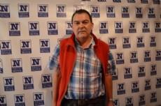 Presidente de la Casa del Chaco en la provincia de Buenos Aires e integrante de la Juan Domingo de Berisso, Pablo Meza. (Foto archivo: NOVA)