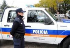 La Polic�a lleg� a tiempo para detener a los delincuentes.