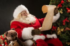 Papa Noel recibir� las cartas de los m�s chicos.