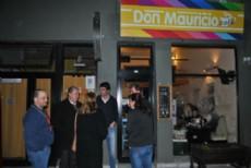 El Caf� Don Mauricio, �el primer bar pol�tico literario�, tal como lo defini� su ide�logo, el candidato a intendente por Cambiemos, Juan D�Amico y el primero con este nombre en el pa�s.