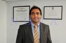 El precandidato a intendente de La Plata por el espacio Compromiso Federal, Marcelo Pe�a. (Foto Archivo: NOVA).
