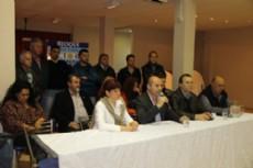 Presentaci�n de la lista del Frente para la Victoria que encabezar� el actual Intendente Municipal Mario Secco.