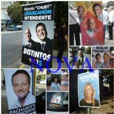 Tas el cierre de las n�minas, la calle vuelve a te�irse de campa�a con afiches y slogan electorales.