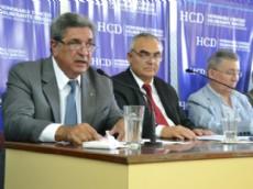 Con el tradicional discurso, el Intendente de Berisso Enrique Slezack dej� inaugurado el per�odo de sesiones ordinarias del Honorable Concejo Deliberante.
