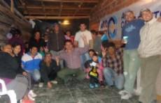 Militantes de Kolina dialogaron con los vecinos de La Plata.