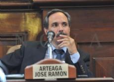 El concejal de La Plata Jos� Arteaga.