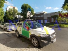 La Chevrolet Captiva de Google que recorri� la ciudad. (Foto archivo: NOVA)