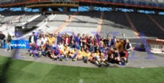 El encuentro se desarroll� en el Estadio �nico de La Plata. (Foto: NOVA)