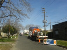 Finalizaron las obras realizadas en el centro de transformaci�n 49 entre 136 y 137, del barrio de San Carlos de La Plata.