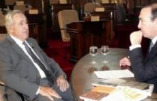 Defelitto y Vaudagna en el  Concejo Deliberante.