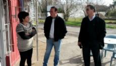 Oscar Vaudagna recorri�, junto al candidato a Senador Dardo Sosa y el candidato a Concejal Juan Moreno, la localidad de Gorina.