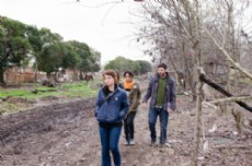 Lenadro Amoretti, candidato a intendente, particip� de una asamblea de productores rurales del Movimiento de Peque�os Productores en la localidad de Lisandro Olmos.