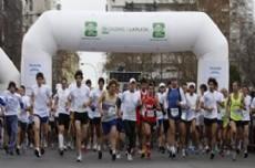 El encuentro deportivo forma parte de las actividades por el mes internacional de la lucha contra el c�ncer de mama.