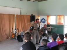Con gran repercusi�n se present� la obra de teatro �Los Musicleta� en el NAC.