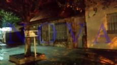 La casa del horror, est� ubicada en calle 65 136 y 137 de Los Hornos. (Foto: NOVA)